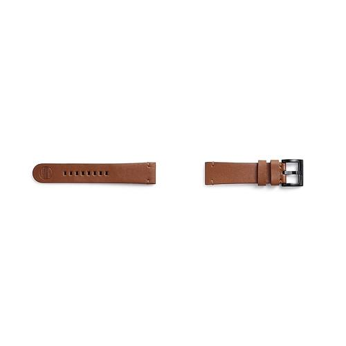Samsung - Essex Leather Band for Galaxy Watch 46mm & Gear S3, Chestnut