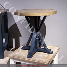 Product Image - Round End Table- Navy