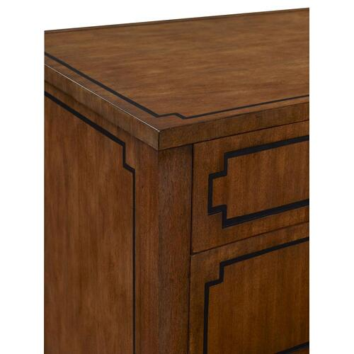 Hickory Chair - Artisan Curved Front Chest - Mahogany