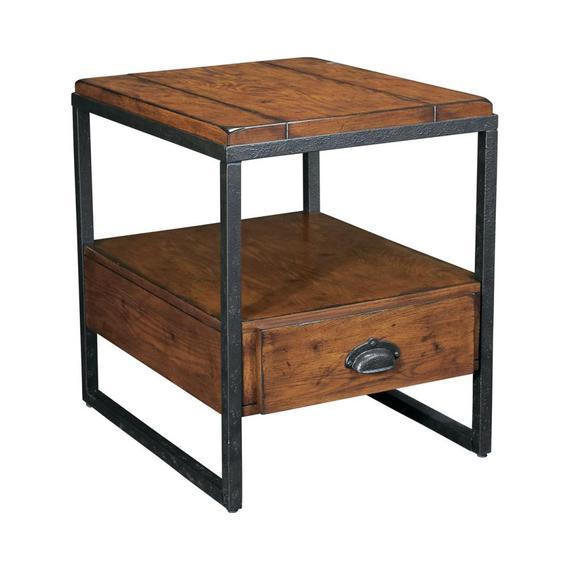 Rectangular Drawer End Table