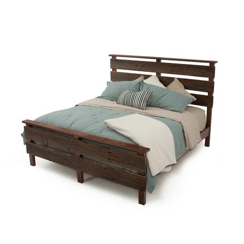 Hillsboro Bed (barnwood or Walnut) - Queen Headboard Only (walnut)