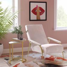 View Product - Abbey Blush Velvet Chair