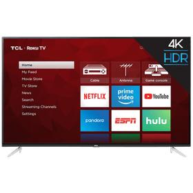"TCL 65"" Class 4-Series 4K UHD HDR Roku Smart TV - 65S423"