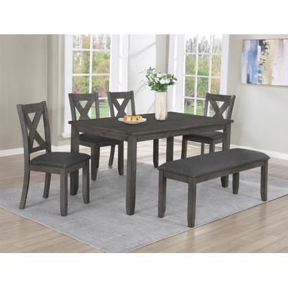 See Details - Favella Side Chair Dark Grey