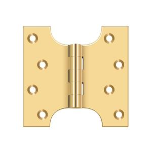 "4"" x 4"" Hinge - PVD Polished Brass Product Image"