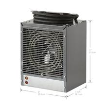 See Details - Dimplex Fan-Forced Construction Heater, 4800W/240V, Grey
