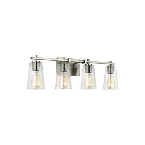 Mercer 4 - Light Vanity Satin Nickel