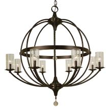 8-Light Compass Foyer Chandelier