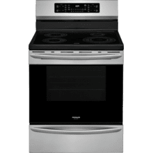 View Product - Frigidaire Gallery 30'' Freestanding Induction Range with Air Fry