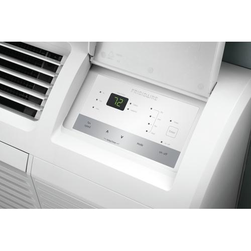 Frigidaire PTAC unit with Heat Pump and Electric Heat backup 7,200 BTU 208/230V with Corrosion Guard and Dry Mode