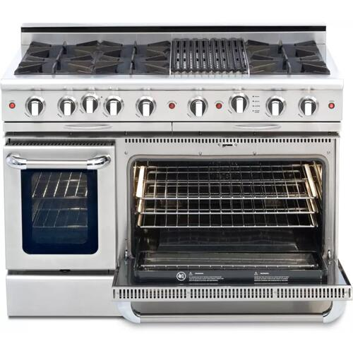 "Product Image - Culinarian 48"" Gas Self Clean Range"