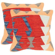 Santa Fe Pillow - Red