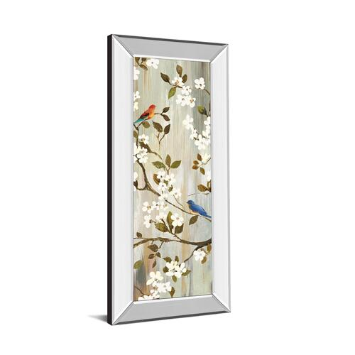 """Bloom I"" By Asia Jensen Mirror Framed Print Wall Art"