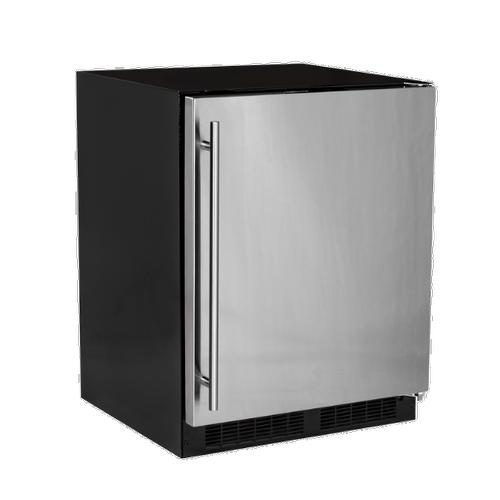 24-In Low Profile Built-In Refrigerator With Maxstore Bin And Door Storage with Door Style - Stainless Steel, Door Swing - Right