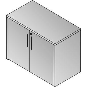 Napa 2-door Storage Cabinet 36x22