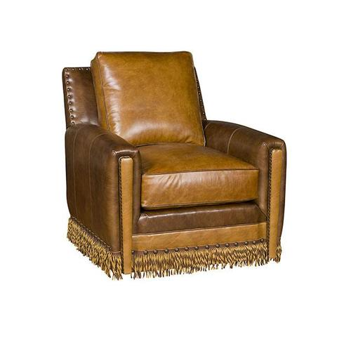 Grand Junction Leather Swivel Chair