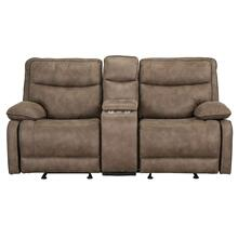 See Details - Colleton Manual Motion Reclining Loveseat with Console, Beige