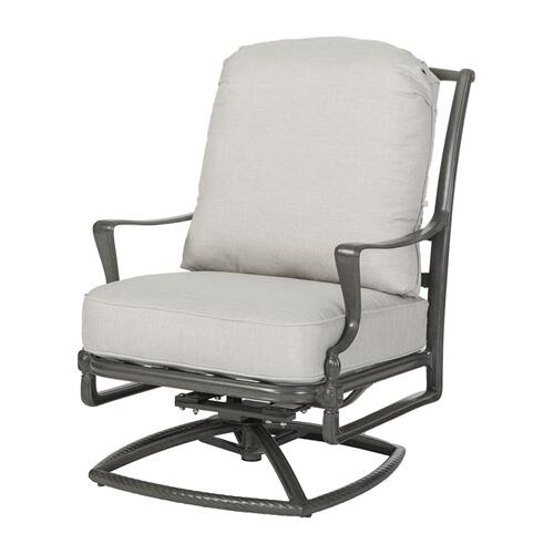 Gensun Casual Living - Bel Air Cushion High Back Swivel Rocking Lounge Chair