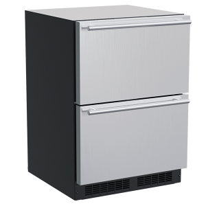 Marvel24-In Built-In Refrigerated Drawers with Door Style - Stainless Steel
