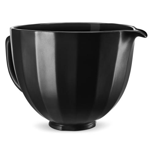5 Quart Black Shell Ceramic Bowl - Other