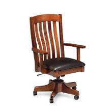 Bradford Arm Desk Chair, Fabric Seat