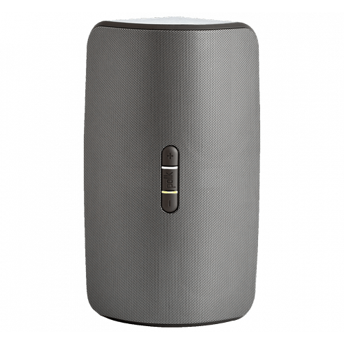 Compact Wireless Multi Room Rechargeable Speaker in Black