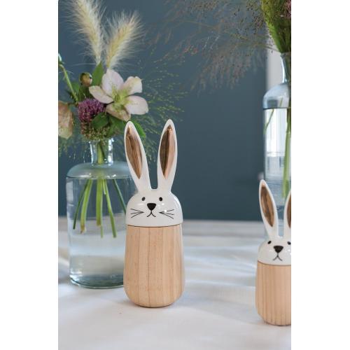 "2.75""x 8"" Hop-A-Long Bunny Figurine"