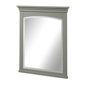 "Shaker Americana 28"" Mirror - Light Gray Product Image"
