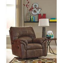 Signature Design by Ashley Bladen Rocker Recliner in Coffee Faux Leather [FSD-1209REC-COF-GG]