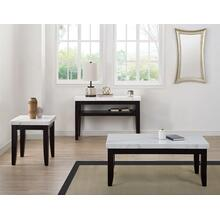 View Product - Francis 3-Pack Marble Top Set(Cocktail & 2 End Tables)