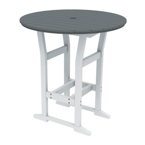 "Seaside Casual - Coastline Caf 40"" Round Bar Table (329)"