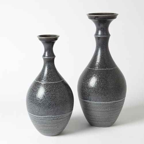 Bassano Vase-Reactive Grey-Sm