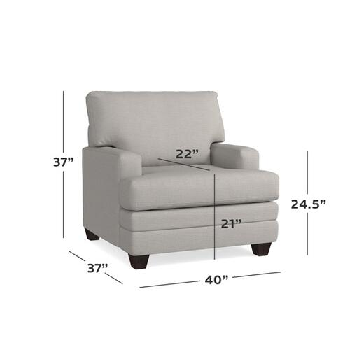 Bassett Furniture - Carolina Track Arm Chair