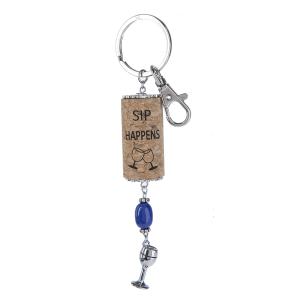 Cork Key Rings (12 pc. ppk.)