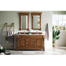 "Brookfield 60"" Double Bathroom Vanity"
