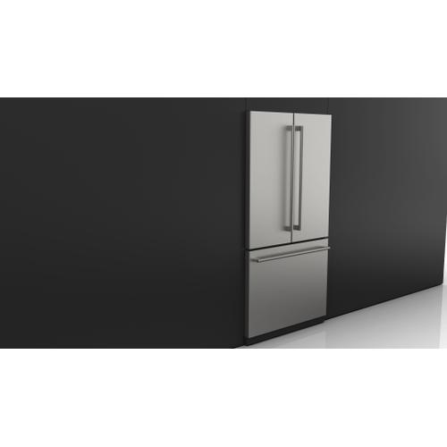 """Fulgor Milano - 36"""" French Door Fridge - Stainless Steel"""