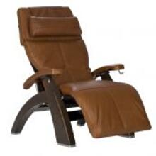 Product Image - Perfect Chair ® PC-420 Classic Manual Plus - Dark Walnut - Cognac Premium Leather