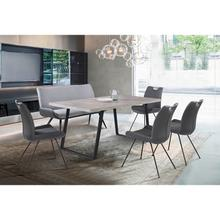 Coronado 6 Piece Grey Rectangular Dining Set