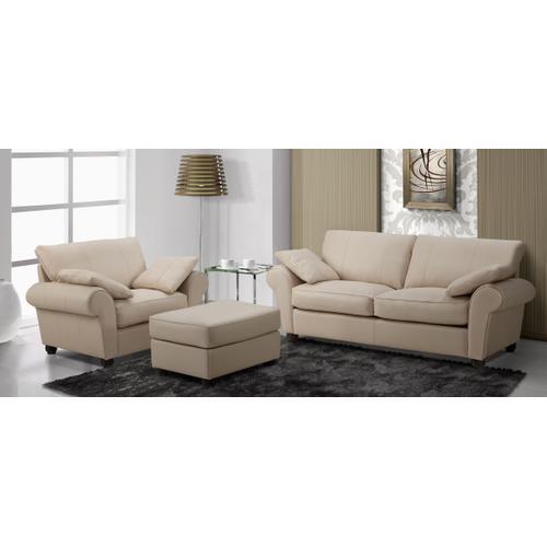 Orleans Apartment sofa, chair and ottoman