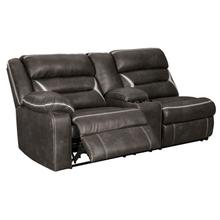 Kincord Left-arm Facing Power Reclining Sofa With Console