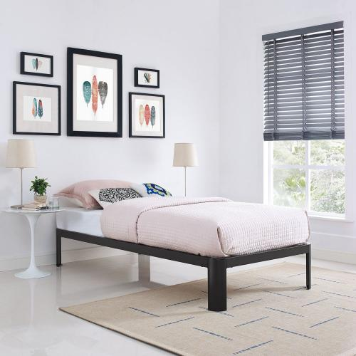 Modway - Corinne Twin Bed Frame in Brown
