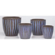 Lilac Wave Planter - Set of 4