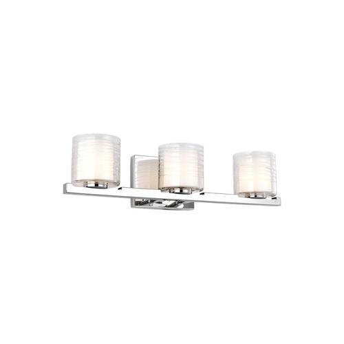 Volo 3 - Light Vanity Chrome Bulbs Inc