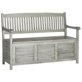 Brisbane Storage Bench - Grey