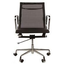 Eames Style Modern Executive Tilt Adjustable Low Back Seat Executive Office Chair - Reproduction - Black