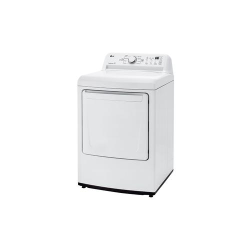 7.3 cu. ft. Ultra Large Capacity Top Load Gas Dryer with Sensor Dry Technology