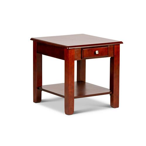 Steve Silver Co. - Nelson End Table, Cherry