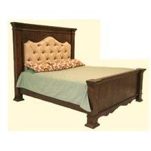Terra Dark Queen Upholstered Bed DISCONTINUED
