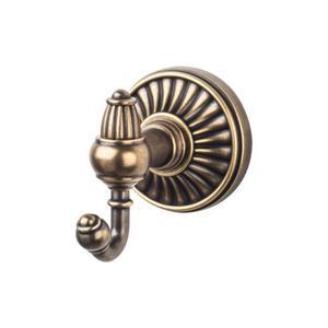 Top Knobs - Tuscany Bath Double Hook German Bronze