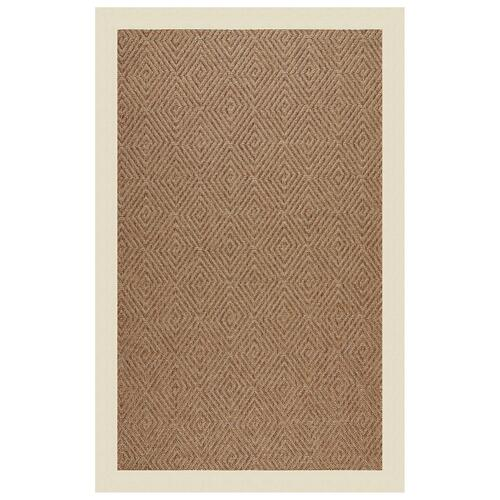 "Islamorada-Diamond Canvas Sand - Rectangle - 24"" x 36"""